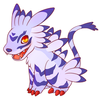 COMMISSION: Chibi Garurumon by SeviYummy