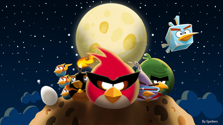 Angry Birds Space Drawing By Speliers On DeviantArt