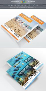 Travel Agency Marketing Flyer by Saptarang
