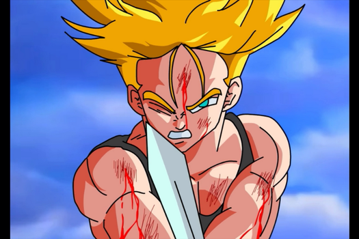 Trunks El Guerrero Del Futuro by luroper