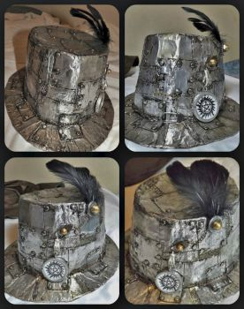 Steampunk Hunter's Hat by TinaCaper
