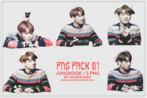PACK PNG 01 - JUNGKOOK by Jinhyun99