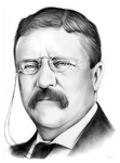 Theodore Roosevelt by gregchapin