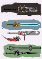 Some swords by fromcomics