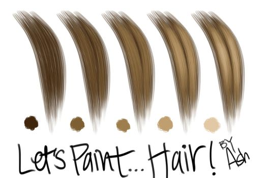 Let's Paint... Hair! by ashesto