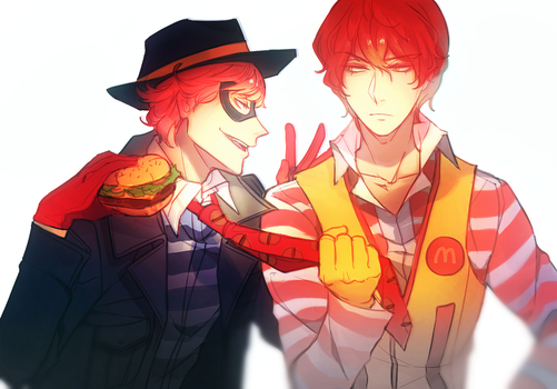 Burger Thief by Cioccolatodorima