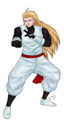 Andy Bogard by ktou