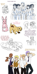Fruity furry BICP sketchpile by ErinPtah