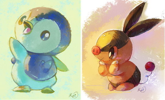 A pair of starters by KoriArredondo