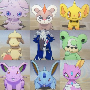 Shiny Pokemon for trade - OPEN by ShinyPokemonCenter