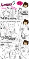Pairing Meme By Me. by Lilicia-Onechan