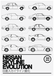 Nissan Skyline Evolution by Axle9