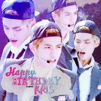 HAPPY BIRTHDAY KRIS by mayradias