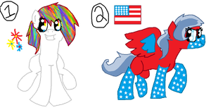 4th Of July Adoptables Contest Entry (15 Points) by rustics