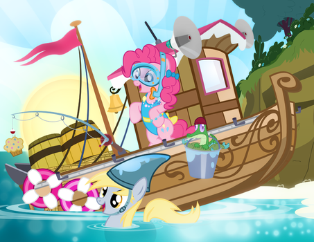 Pinkie Pie's Ocean Adventure by PixelKitties