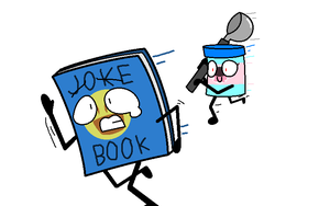 RUN JOKE BOOK RUN! by SkyMeowCute