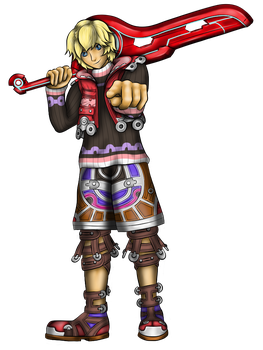 Shulk (Upgrade) by HarlandGirl