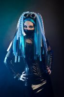 Cybergoth fashion by mysteria-violent