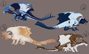 Adoptable DragonSheet2 [CLOSED] *lowered price* by Zevanox