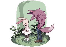 Wolf and Bun by Andcetera