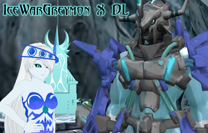 MMD IceWargreymon X DL by DarkKomet
