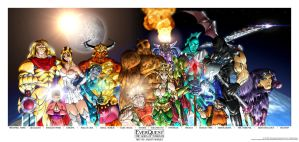 EverQuest: the Gods of Norrath by Bensaret