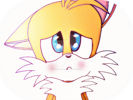 Tails the fox by MiryamDraws