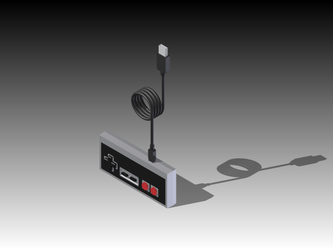 USB NES Controller by tonimich
