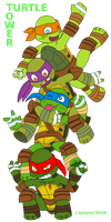 Turtle Tower by Captain--Ruffy