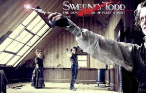 Sweeney Todd Poster 6 by DesiringPirates