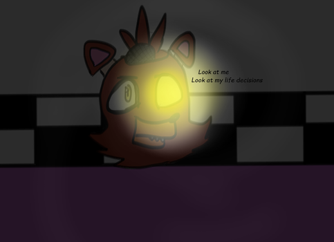 tfw that foxy is a lamp by MagicstarTheKitty