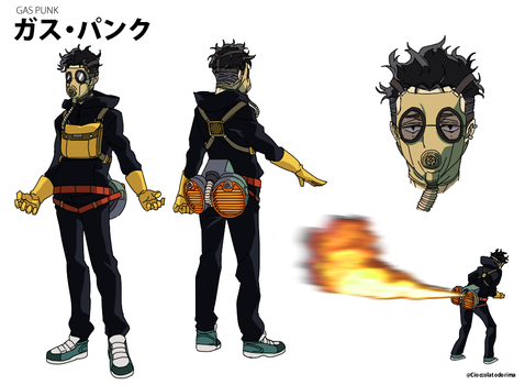 Fartillery Hero- Gas Punk by Cioccolatodorima