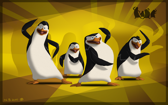 The Penguins of Madagascar by Ari-chaan