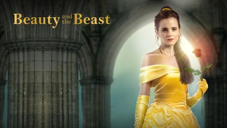 Emma Watson - Belle Wallpaper 02 by AxteleraRay-Core
