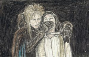 The dark side of Jareth by gagambo