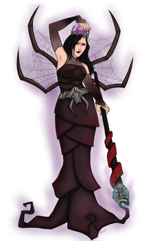 The Umbra Queen by GlassSeraph