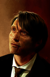 Hannibal Lecter by AmandaTolleson
