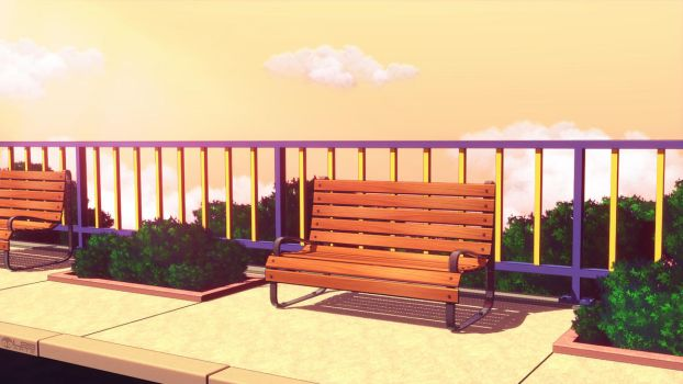 Anime Style - In the Afternoon by Luther2s