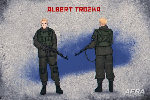 Albert Trozka -Character Creation by AFBA