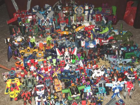 Transformers Collection by darknessgazer