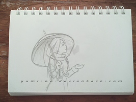 Sketch ART Yumi by Yumi-Ho
