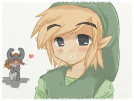 TP toon link O.o by Midna01