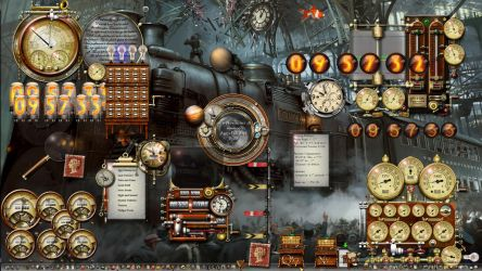 Train 2 Desktop Windows 10 Steampunk to the max! by yereverluvinuncleber