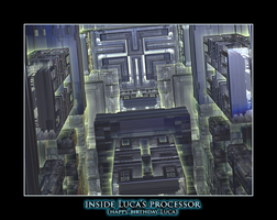 inside Luca's processor (happy birthday Luca) by fraterchaos