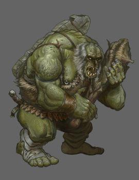The One Ring RPG - Old Troll by ScottPurdy