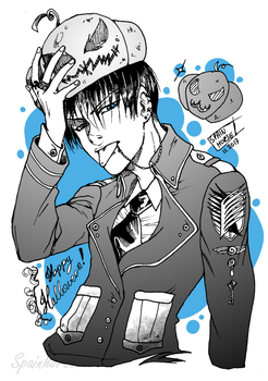 Halloween-Levi! by CrisFHatena