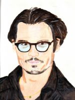 Johnny Depp again by audamay