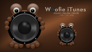 Woofie iTunes Icon by SoundForge