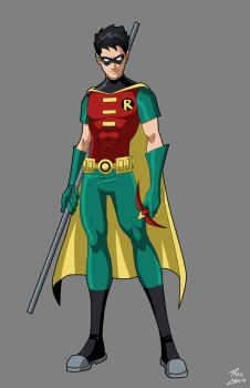 Robin commission by phil-cho