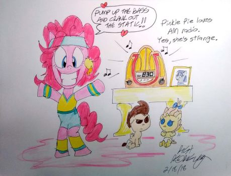 Pinkie Pie's AM Workout by NewportMuse